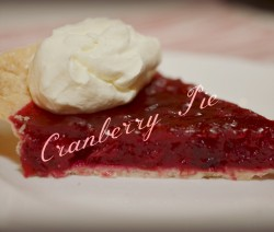 USE cran pie beauty pic