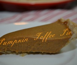 pump toffee pie beauty