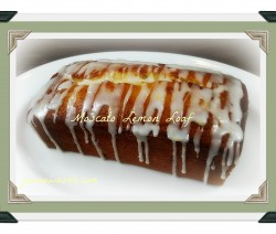 moscato lemon loaf