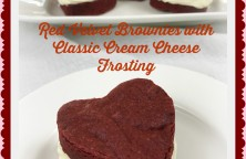 red velvet brownies beauty